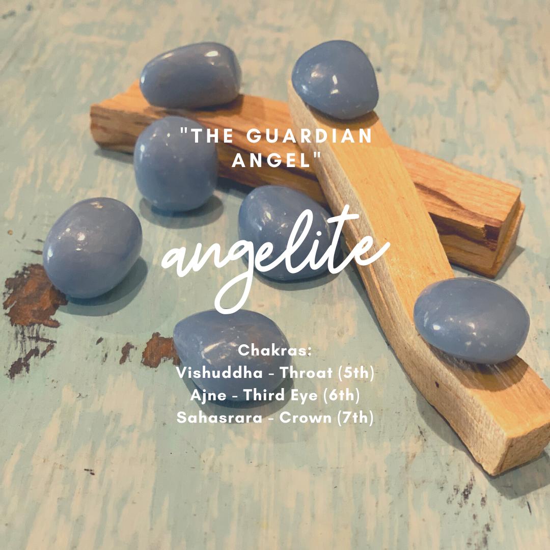 Angelite - Shaman Crystal Kit