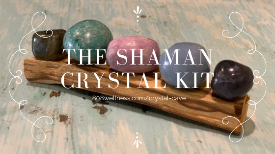 Shaman Crystal Kit 808 Wellness